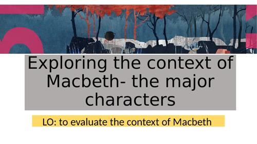 Macbeth GCSE Low ability bundle