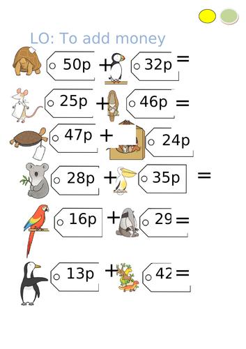 Year 3 - Maths - Money