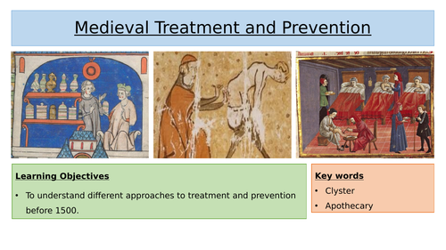 Medieval Treatment & Prevention