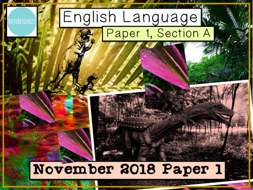 AQA GCSE English Language Revision Lessons - November 2018 Paper 1, Section A