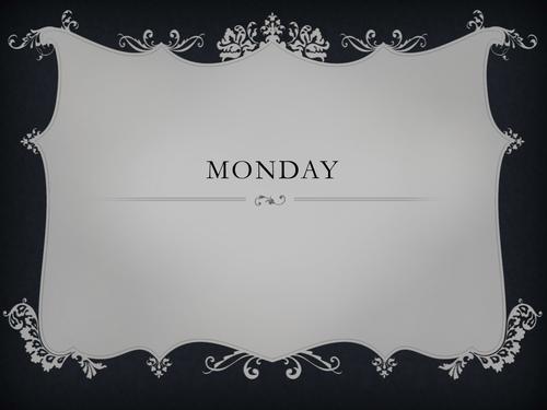 Cluedo Based Crime Fiction Week - English