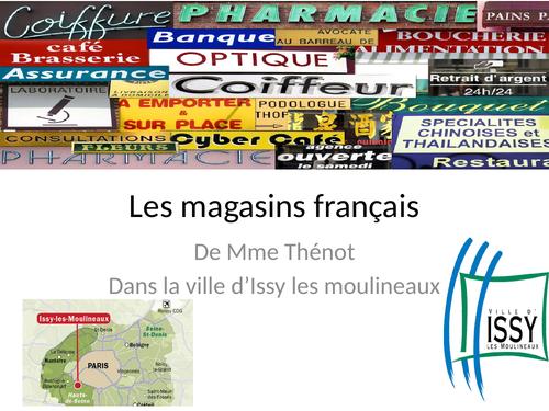 Les magasins et autres endroits à Issy Les Moulineaux (Région Parisienne)