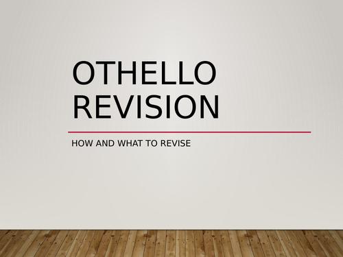 Othello revision powerpoint