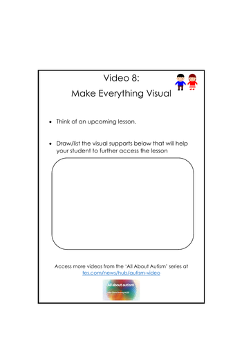 Video 8: Make Everything Visual