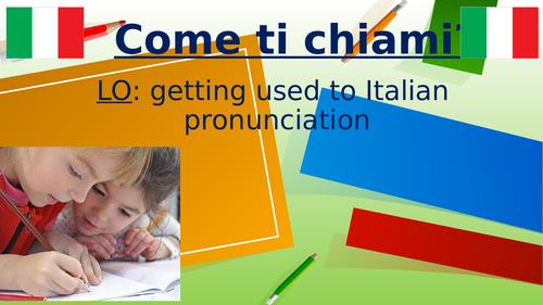Italian sounds and articles