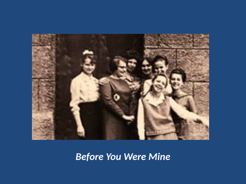 Before You Were Mine by Carol Ann Duffy (AQA Love and Relationships)