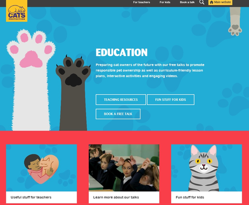 Cats Protection Secondary School Resources
