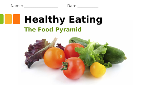 The Food Pyramid- Healthy Eating