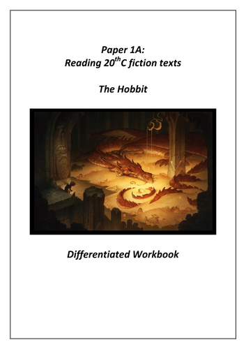 The Hobbit - Extract Workbook