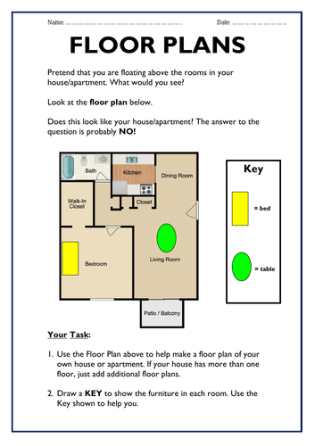 Dt Design Your Own Floor Plans Teaching Resources