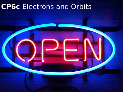 Edexcel CP6c Electrons and Orbits