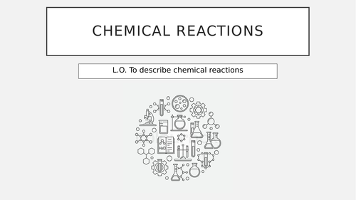 Chemical reactions starter pack