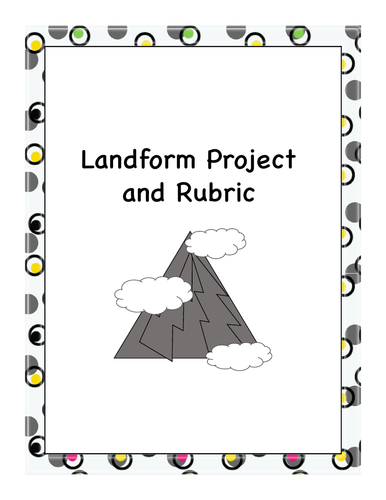 Map Skills - Landform Project