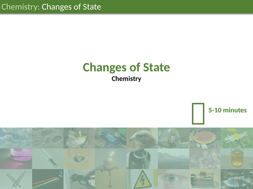 KS3 Science - Changes of State