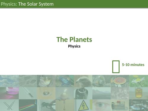 KS3 Science - The Solar System