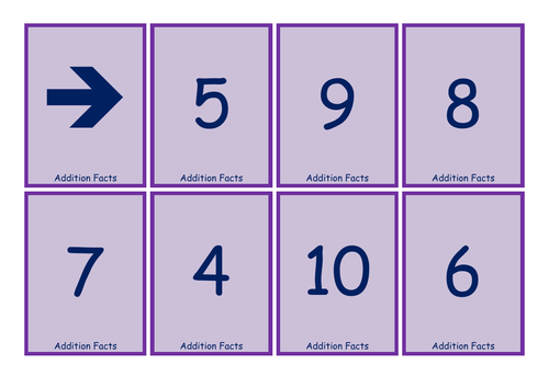 Twist & Check Cards - Addition