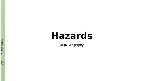 AQA A Level Hazards