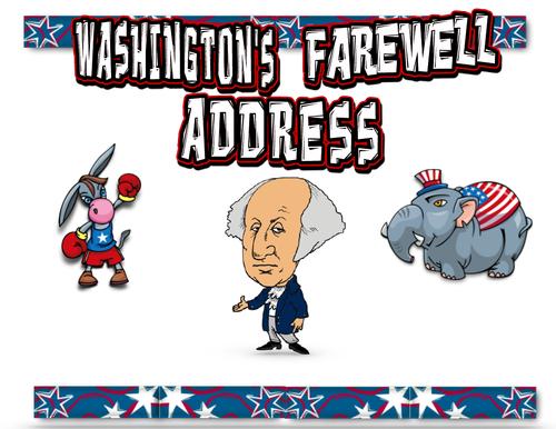 George Washington Farewell Address Comic