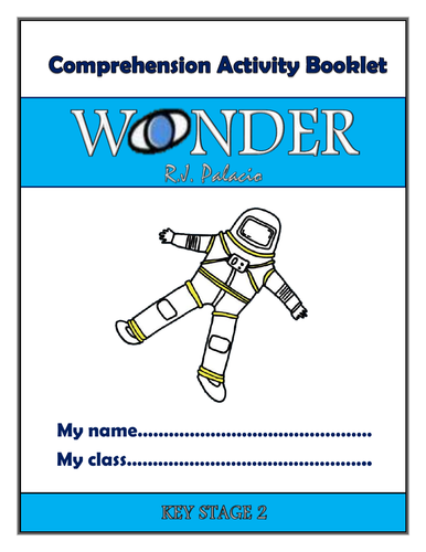 Wonder by RJ Palacio: Whole-class reading unit (or guided