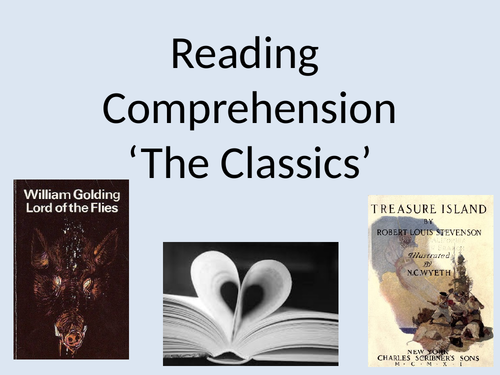 Year 6 Reading comprehension for classics