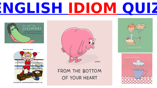 Fun English Idiom Quiz!