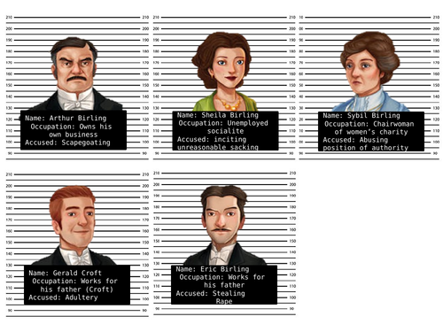An Inspector Calls quotes and display image