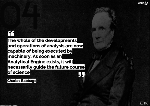 Famous Computer Pioneers -  Charles Babbage