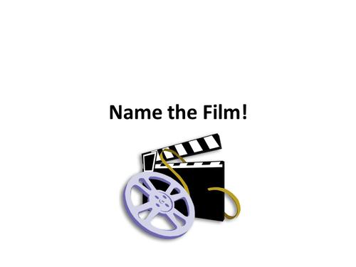Name the Film Quiz