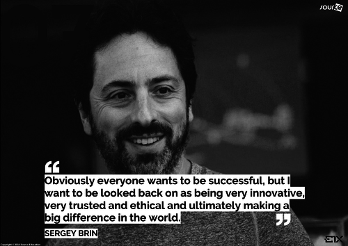 Famous Computer Pioneer : Sergey Brin