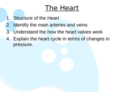 AQA A Level Biology - Mass Transport and The Heart