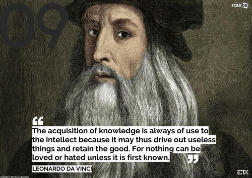 Famous Artists - Leonardo Da Vinci 01