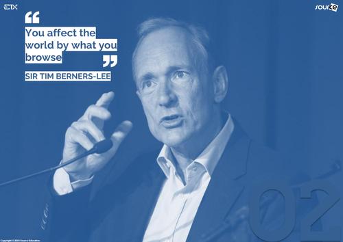 Famous Computer Pioneers : Sir Tim Berners-Lee (Variation)