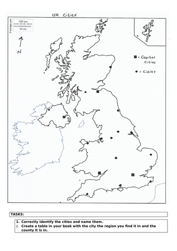 Human Geography of UK Lesson