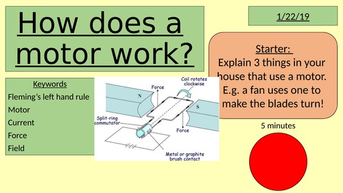 How does a motor work?