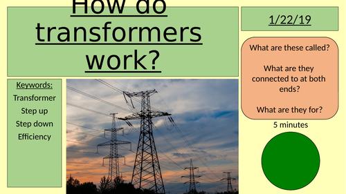 How do transformers work?