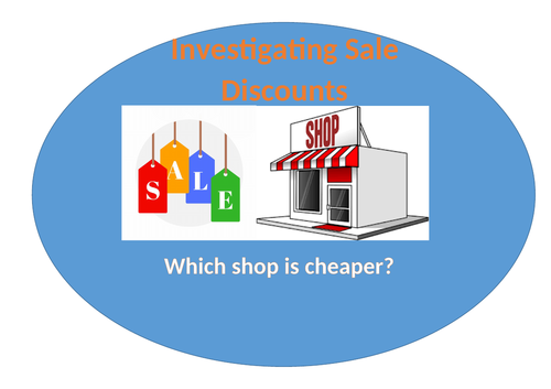 Finding Fractions of Money: Investigating Sale Discounts