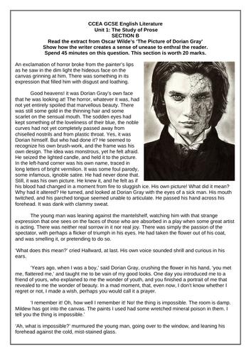CCEA GCSE ENGLISH LITERATURE: The Study of 19th Century Unseen Prose