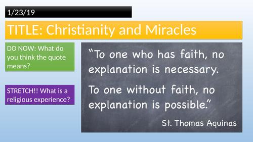Religious Experiences-Christianity&Jesus
