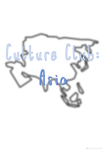 Culture Club: Asia (BUNDLE)