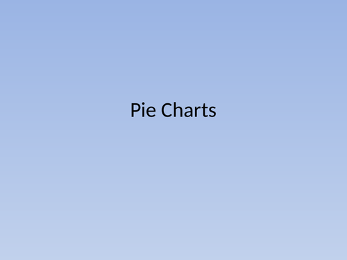 Pie Charts made simple