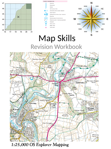 OS map skills revision workbook