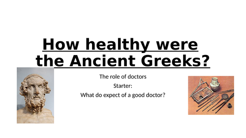 How healthy were the Greeks?