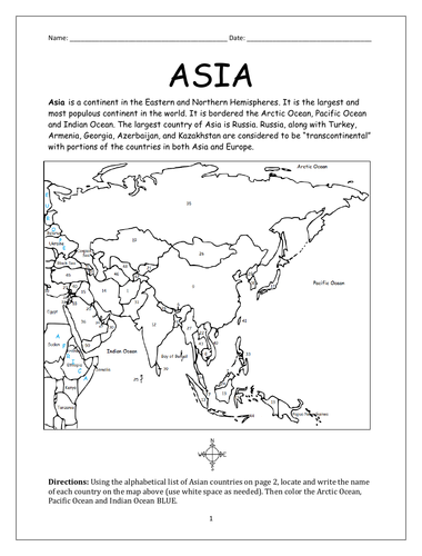 ASIA - CONTINENT