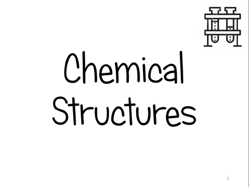 KS3 Chemical Structures Flash Cards