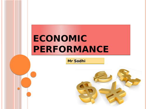 Economic performance starter