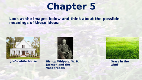 CIE IGCSE English Literature - Their Eyes Were Watching God - Chapter 5
