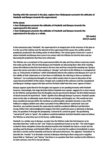 Macbeth essay gcse help buy philosophy dissertation introduction