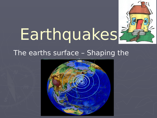 Earthquakes - Introduction