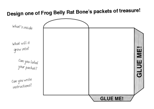 Frog Belly Rat Bone Design Your Own Packet of Treasures