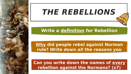 Norman rebellions game